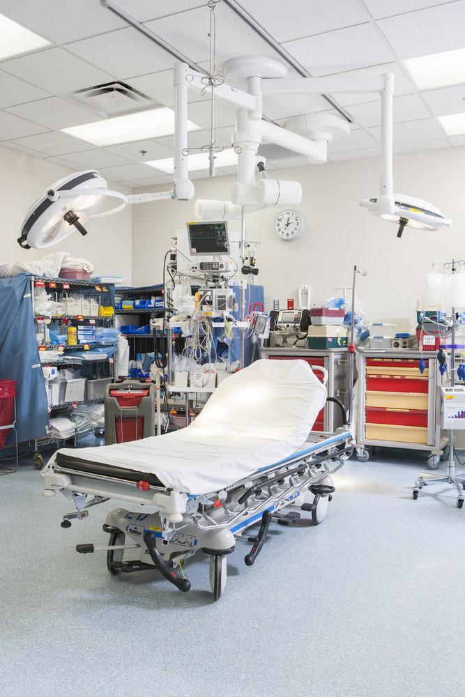 Emergency room in hospital