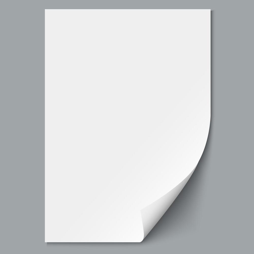 Empty Paper Sheet