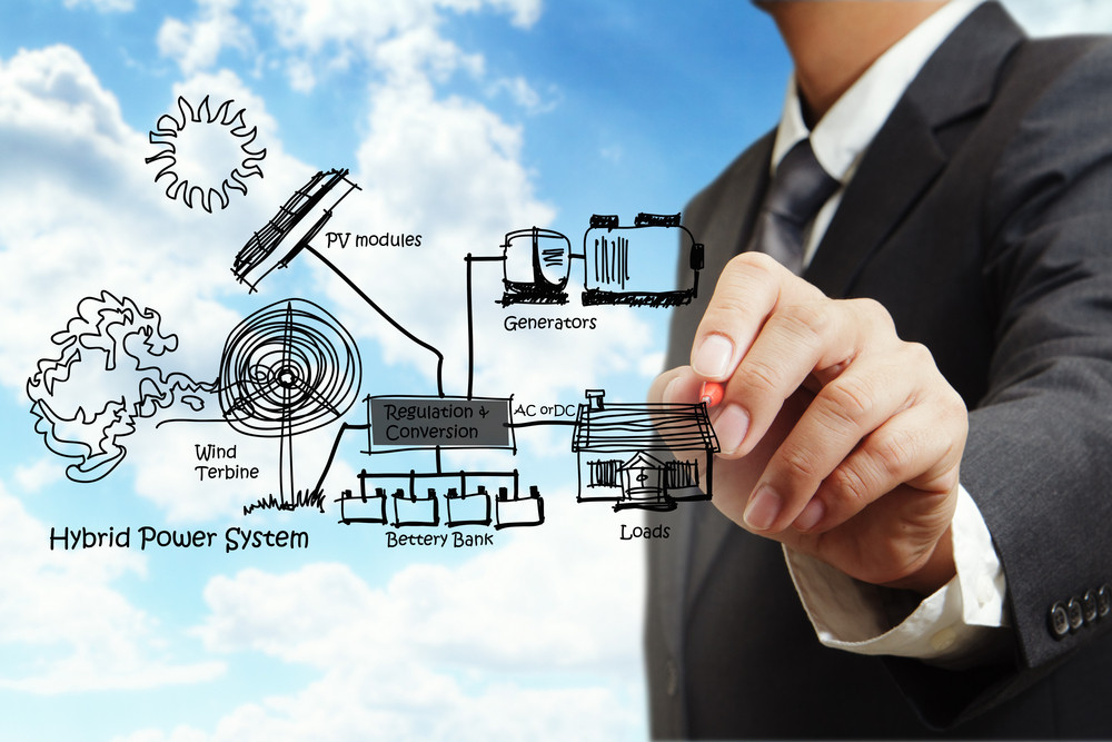 Engineer Draws Hybrid Power System