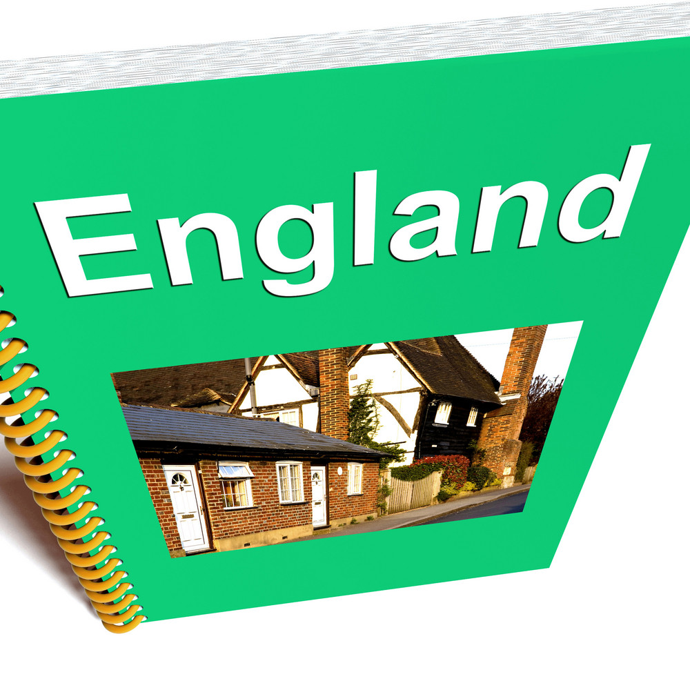 England Book For Tourism To The United Kingdom