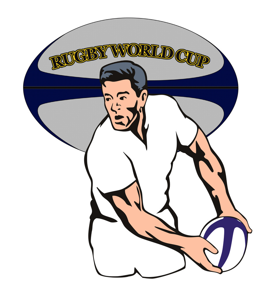England Rugby World Cup Player