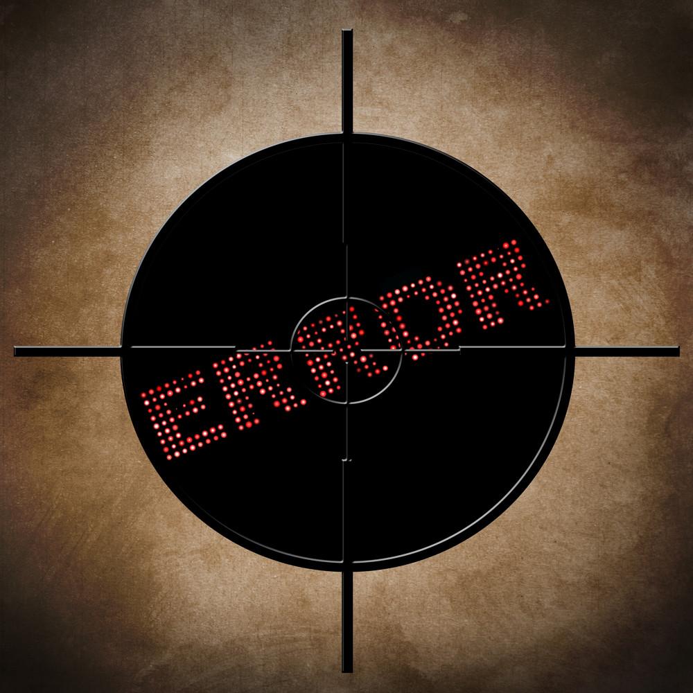 Error  Target Concept