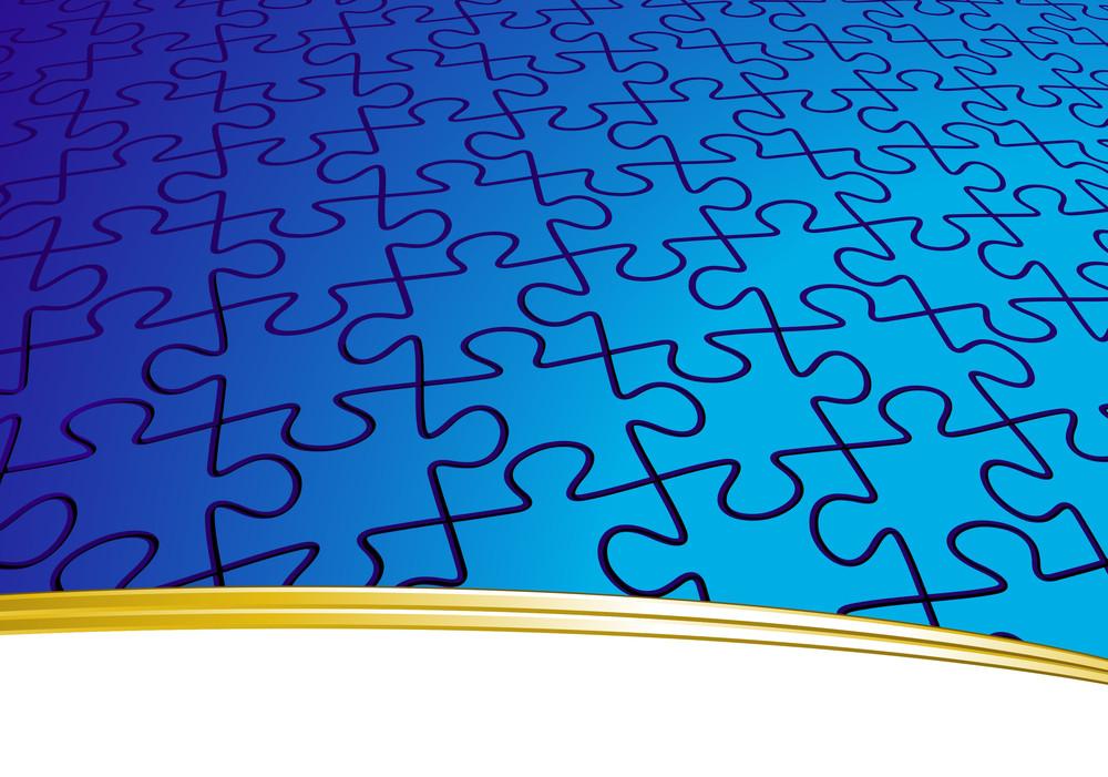 Eternal Puzzle. Vector Template.