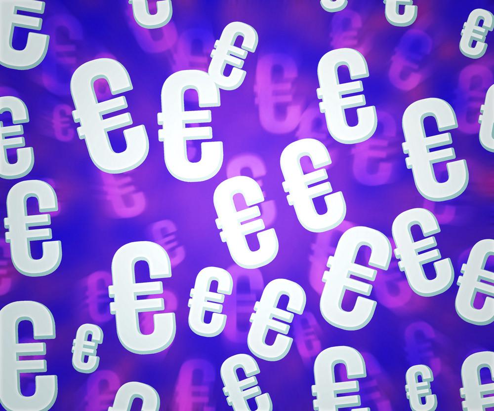 Euro Violet Background