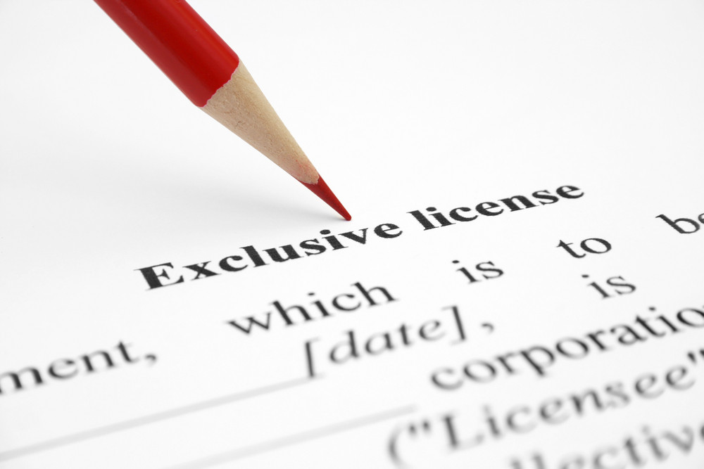 Exclusive License