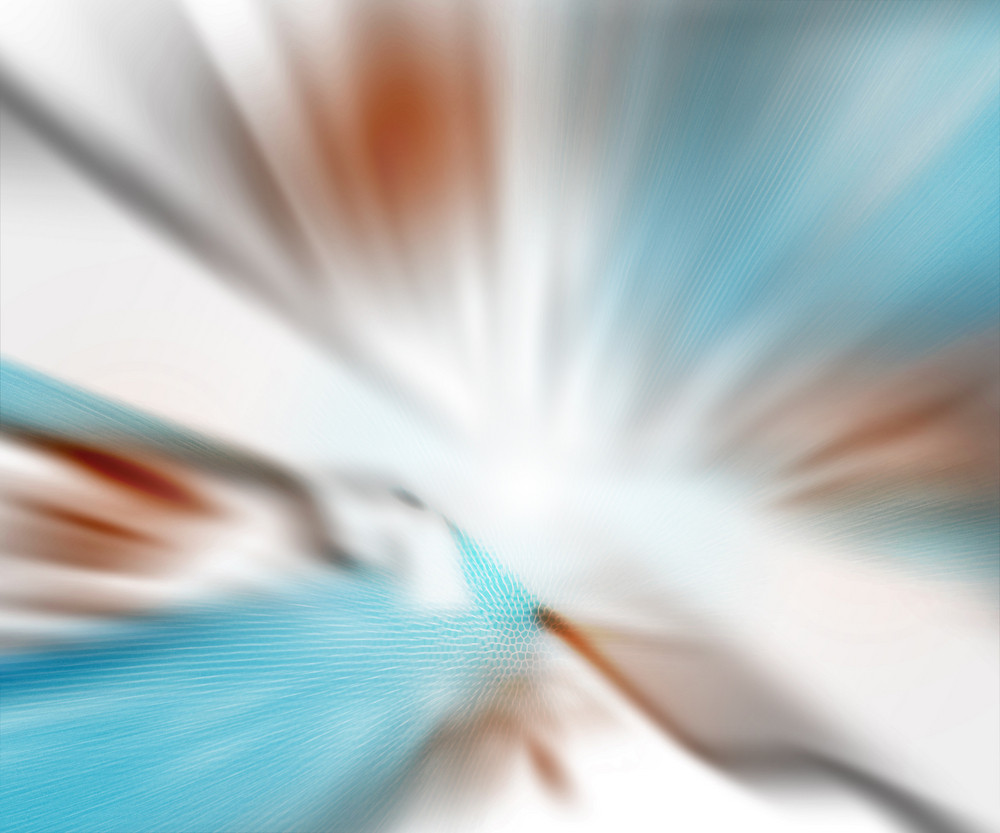 Explosion Blur White Blue Background