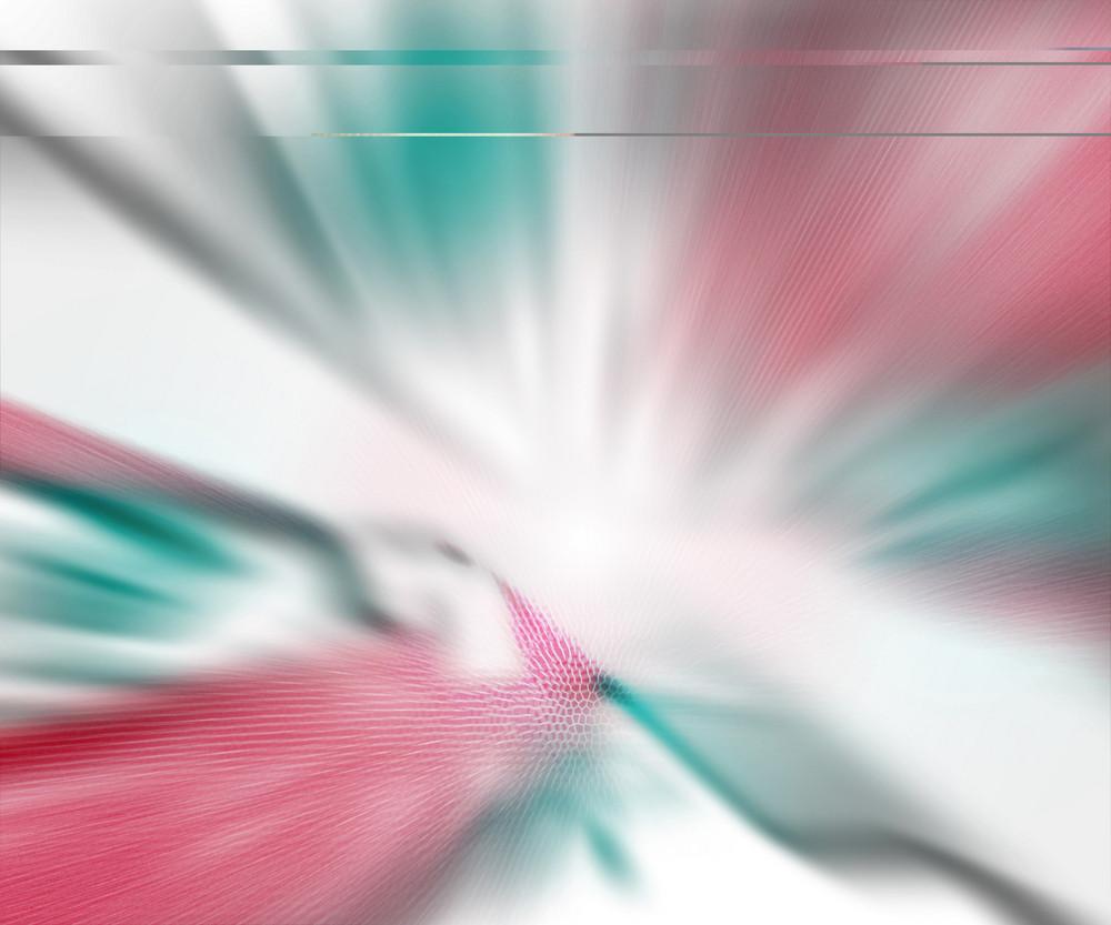 Explosion Blur White Red Background