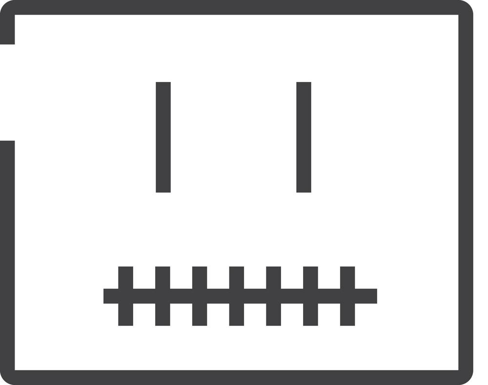 Face 1 Minimal Icon
