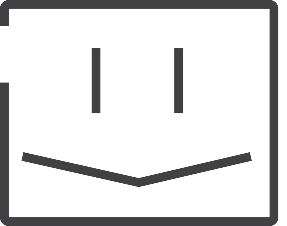 Face 3 Minimal Icon