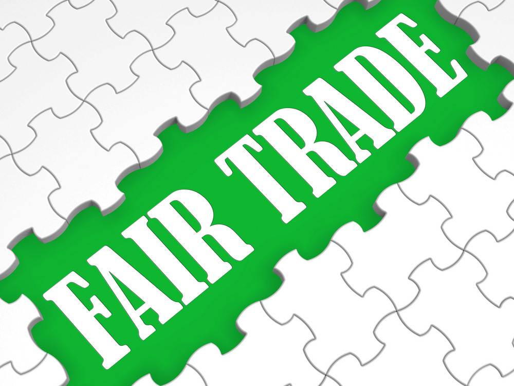 Fair Trade Puzzle Shows Price Deals