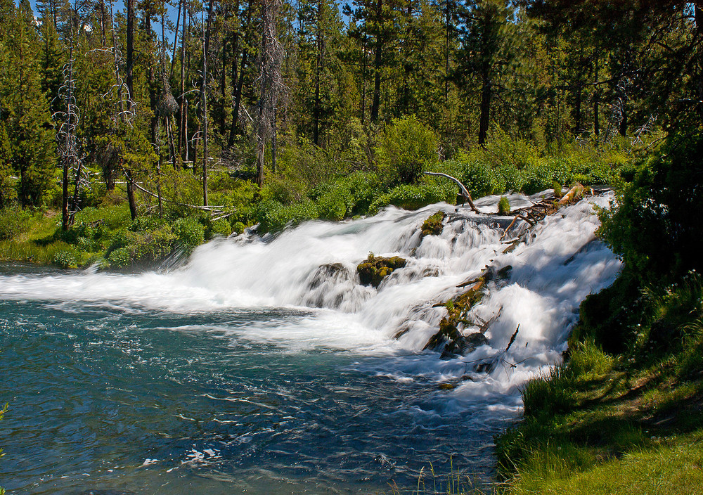 Fallriver Oregon Waterfalls