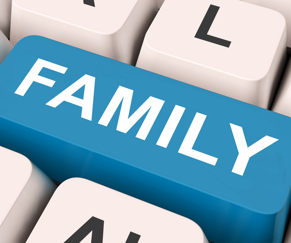 Family Key Means Blood Relation Or Relatives