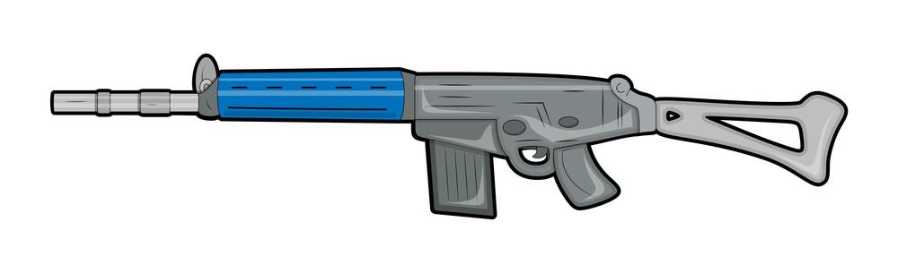 Fancy Gun Vector