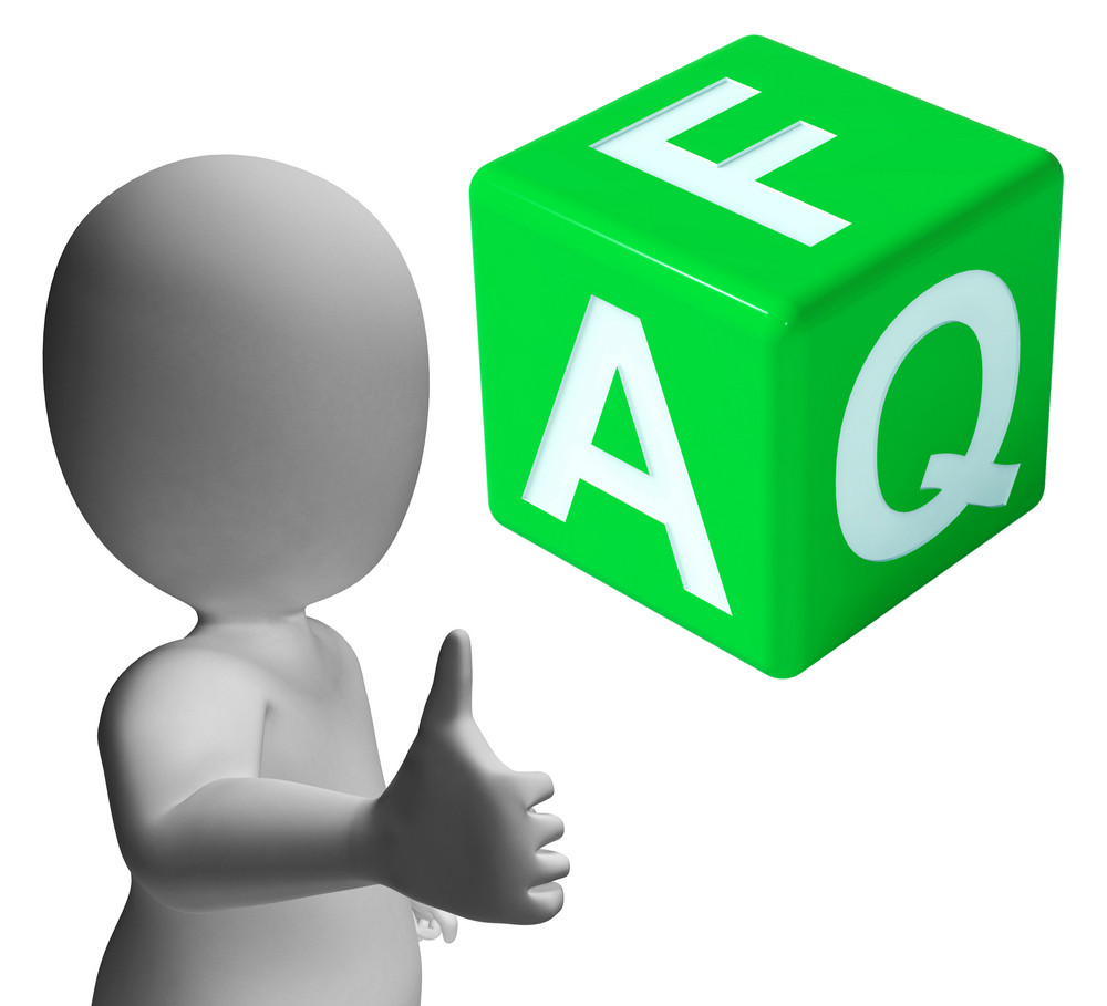Faq Dice As Sign For Information Or Assisting