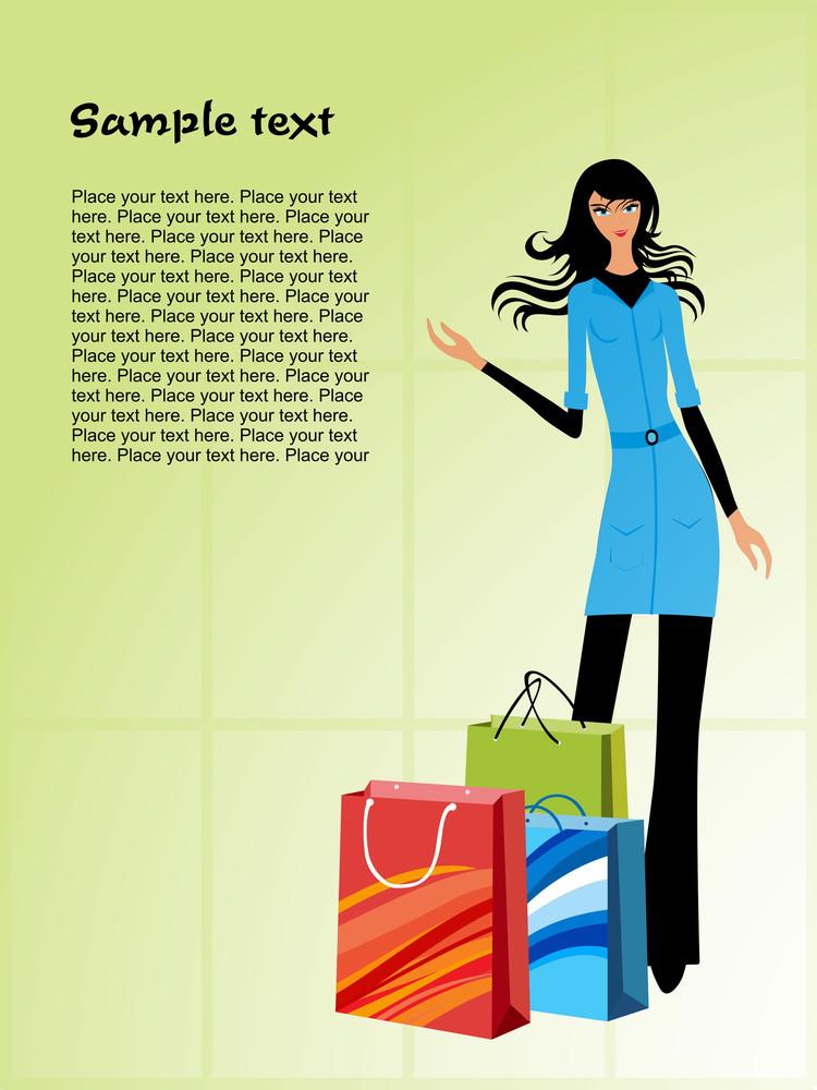 Fashion Woman Pose Series