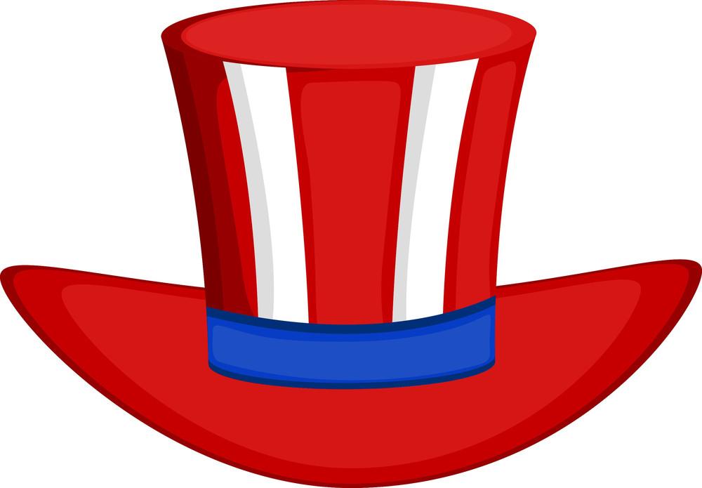 Fashionable Uncle Sam Hat