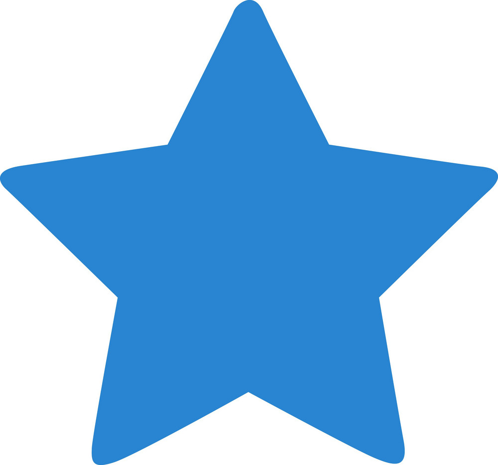 Favorite Star Simplicity Icon