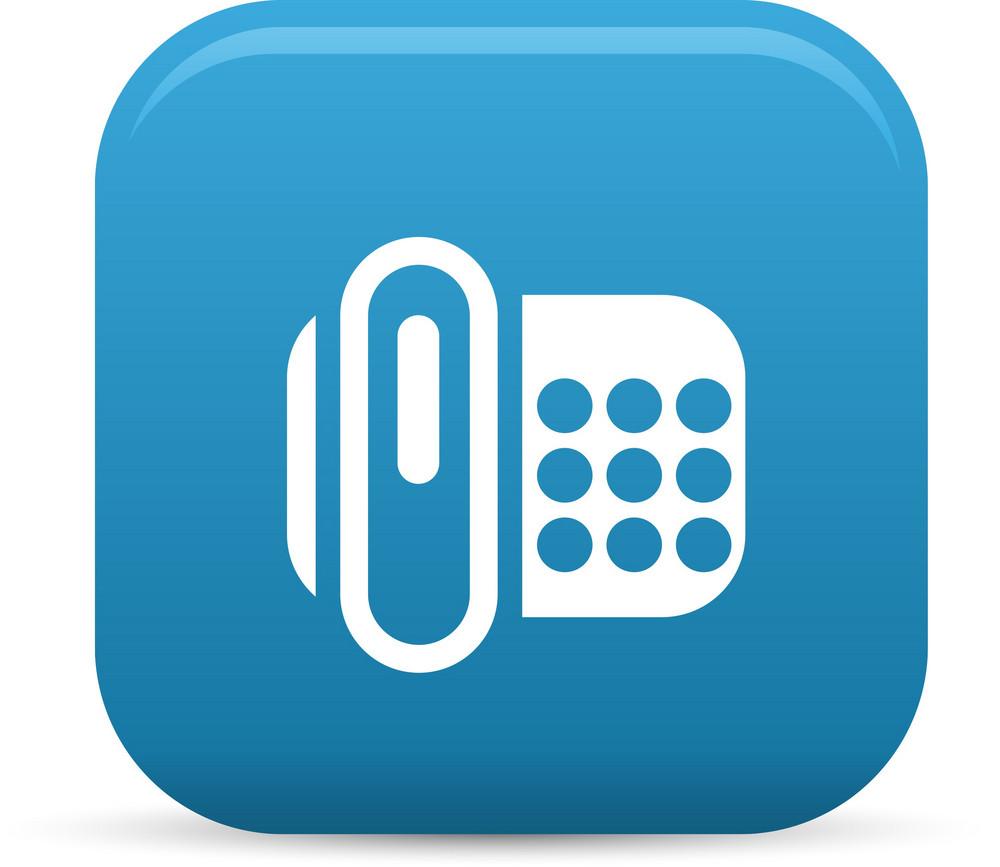 Fax Machine Elements Lite Icon