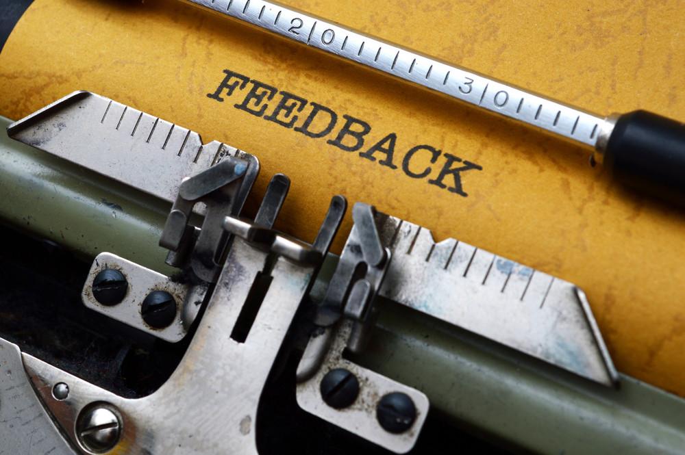 Feedback On Typewriter