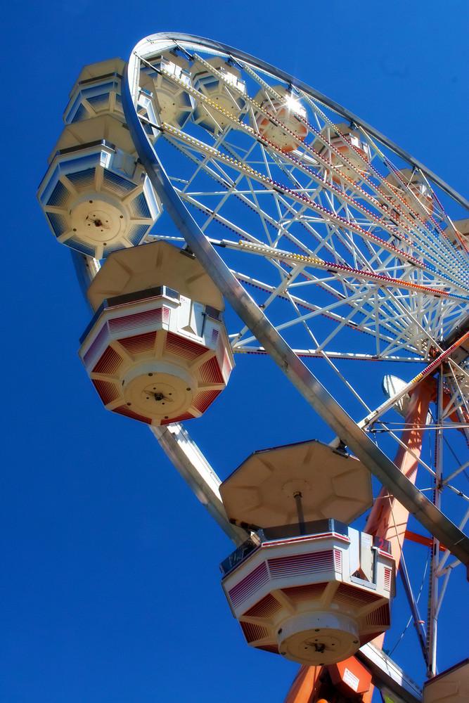 Ferris Wheel Ride Daylight
