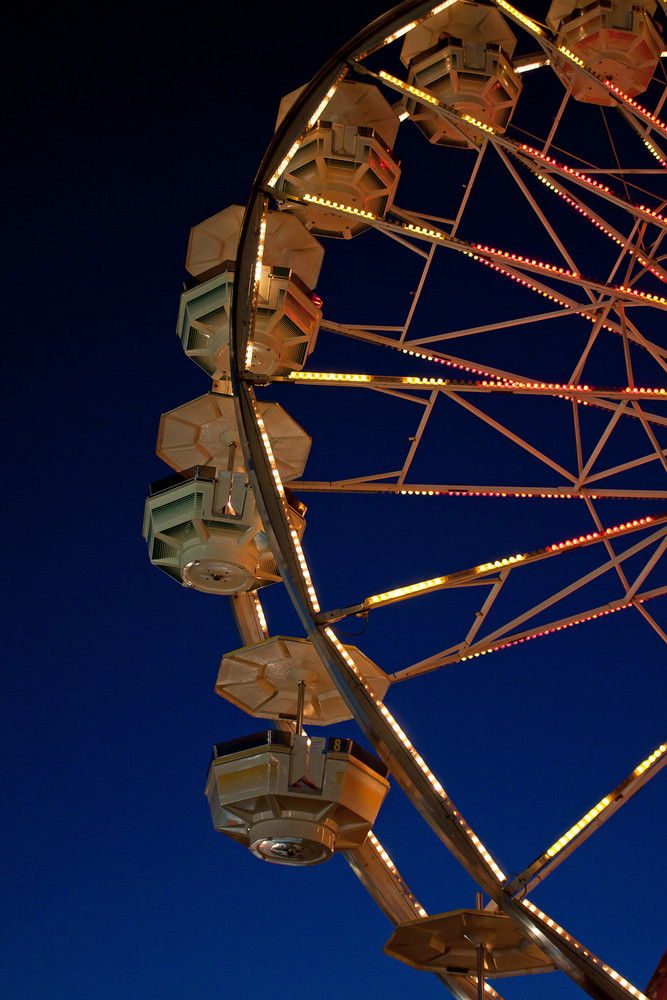 Ferris Wheel Ride Twilight