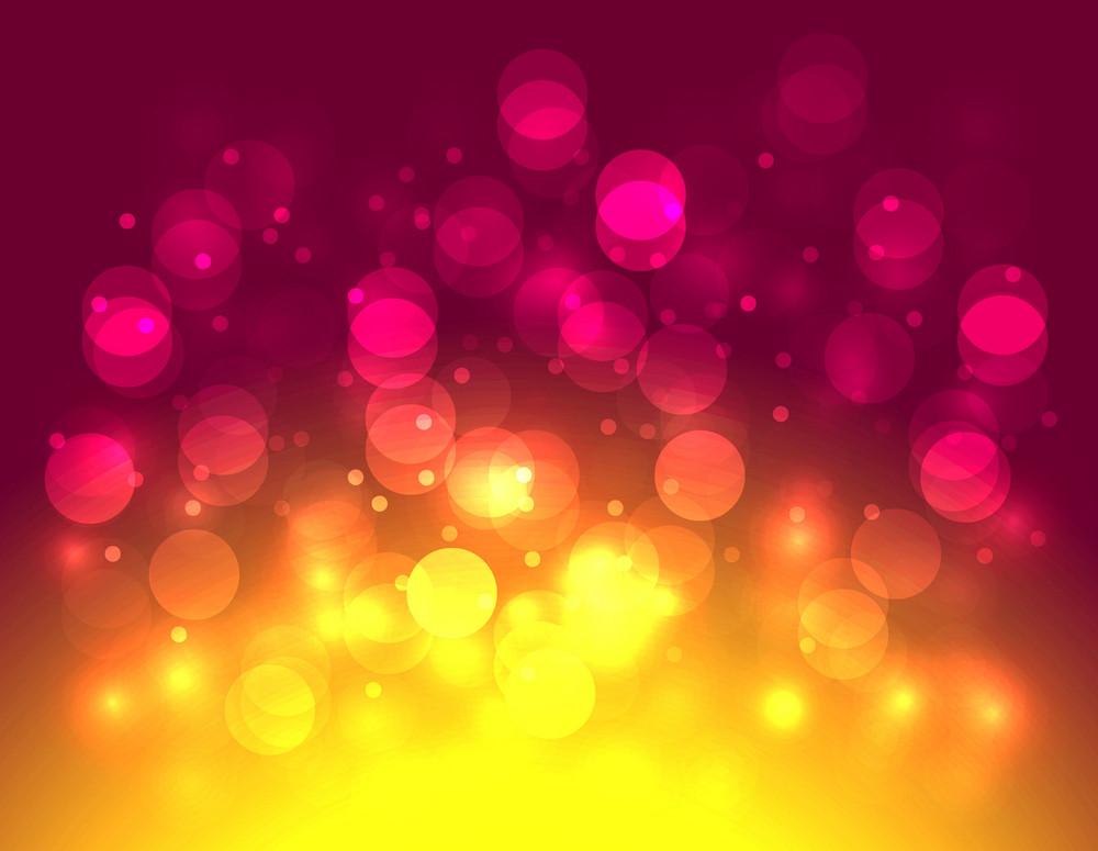 Festival Colored Lights Background