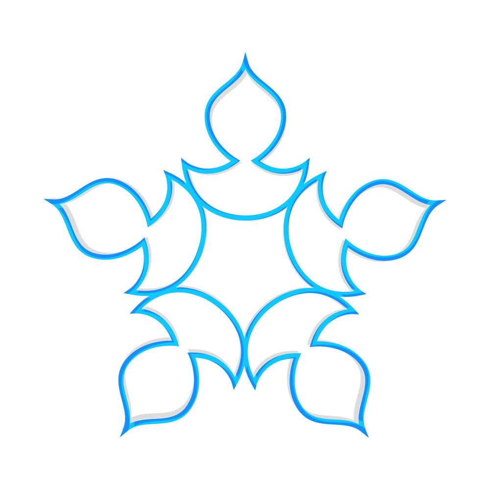 Festive Decorative Snowflake