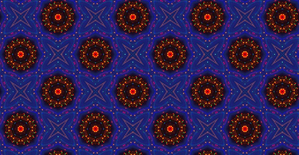 Festive Floral Pattern