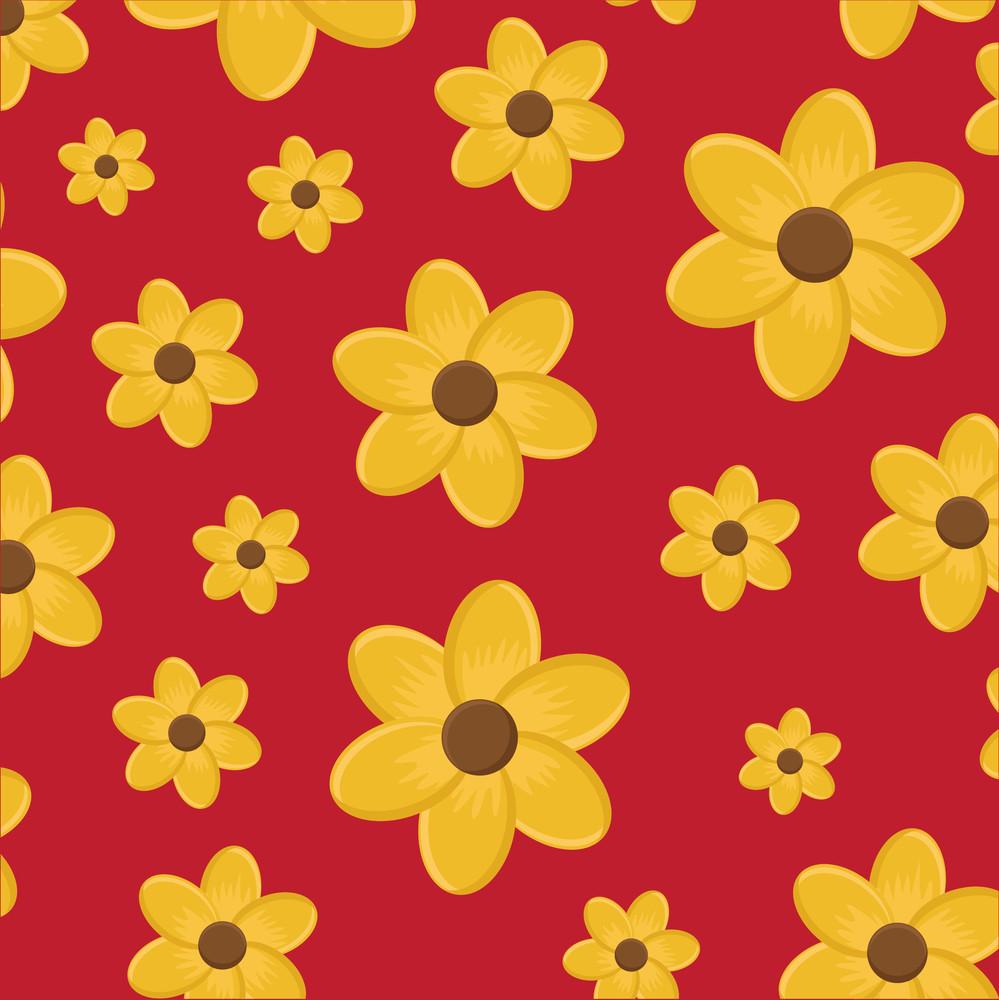 Festive Flowers Background
