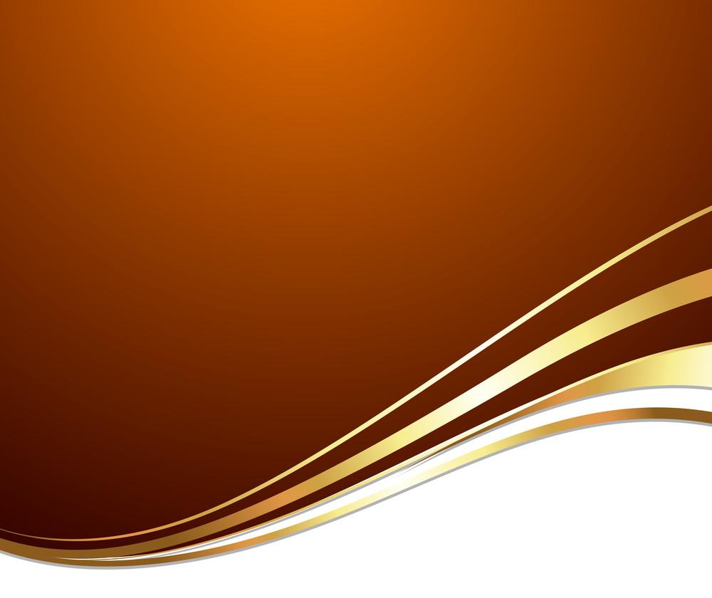 Festive Golden Wave Background