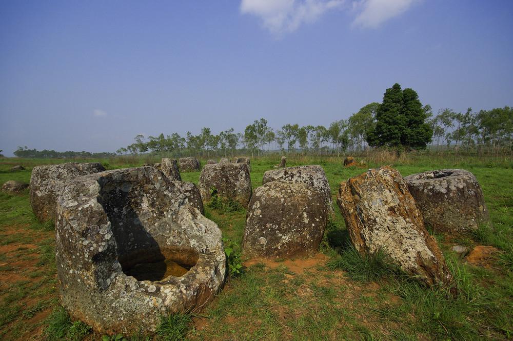 Field of Jars in Phonsavan, Laos