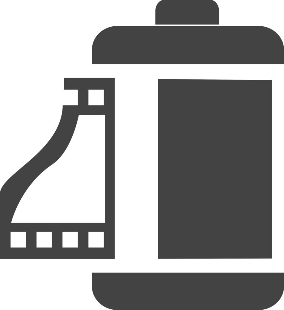 Film 1 Glyph Icon