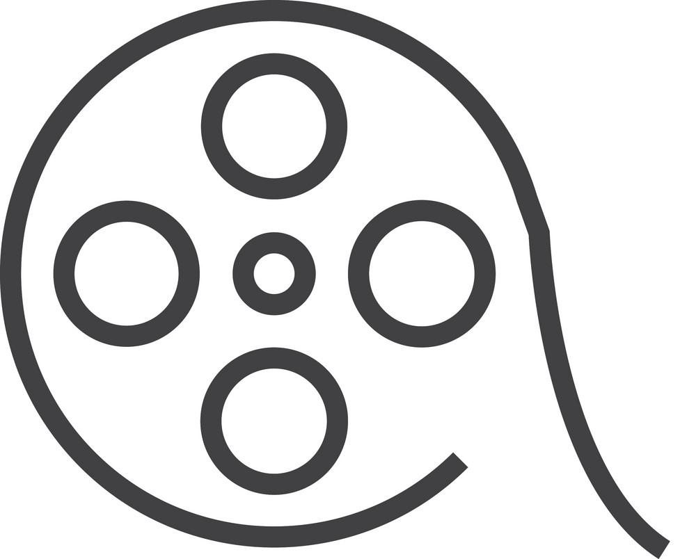 Film 5 Minimal Icon
