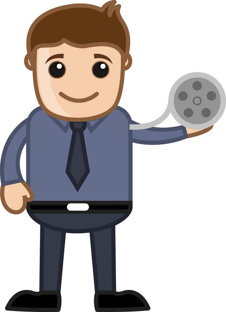 Film Reel - Business Cartoons