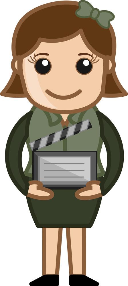 Film Slate - Business Cartoons