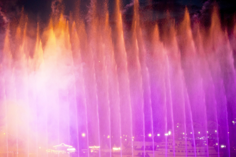 Fire And Water Show