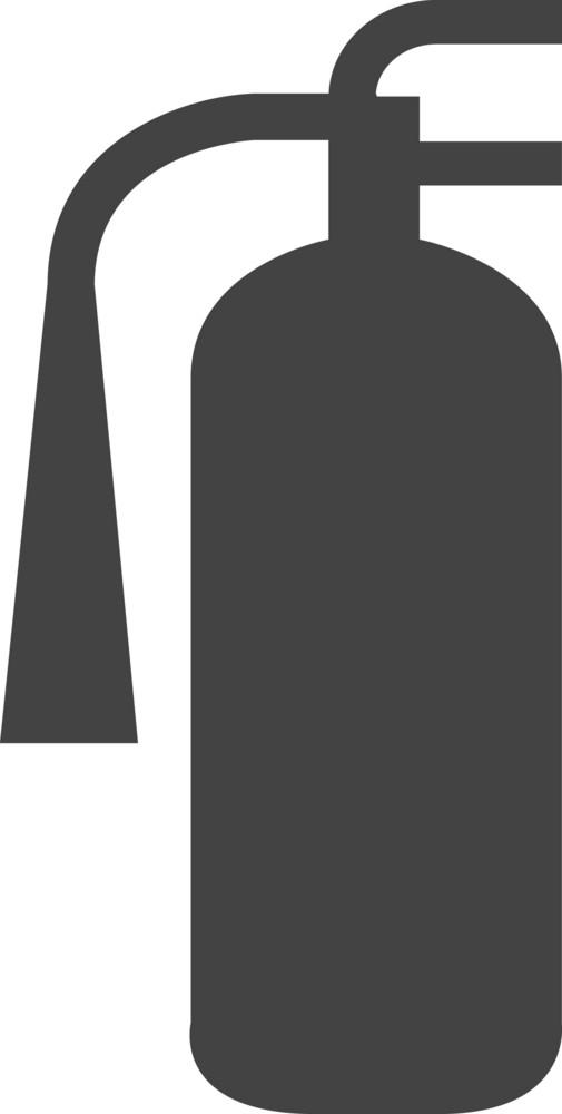 Fire Extinguisher Glyph Icon