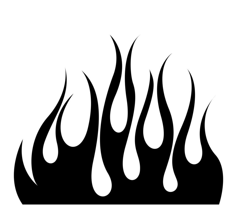 Fire Flame Shape Design