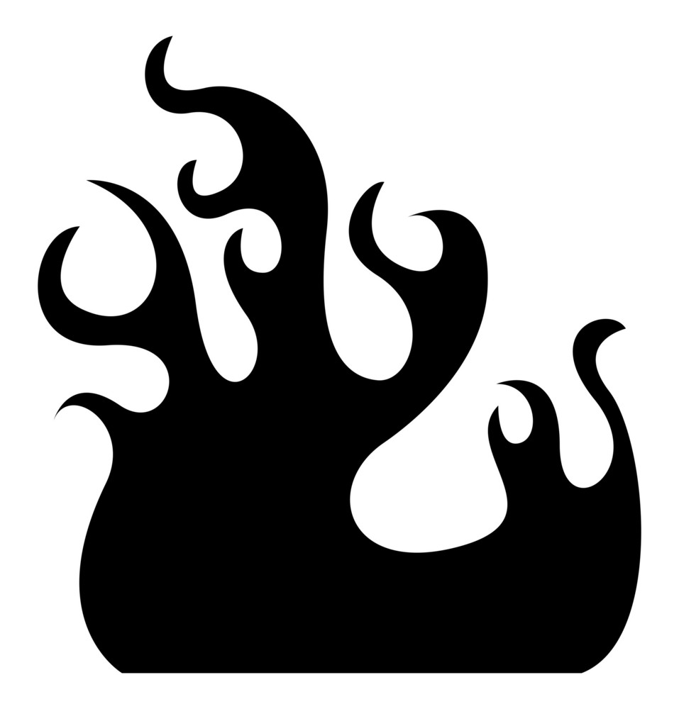 Fire Flame Silhouette