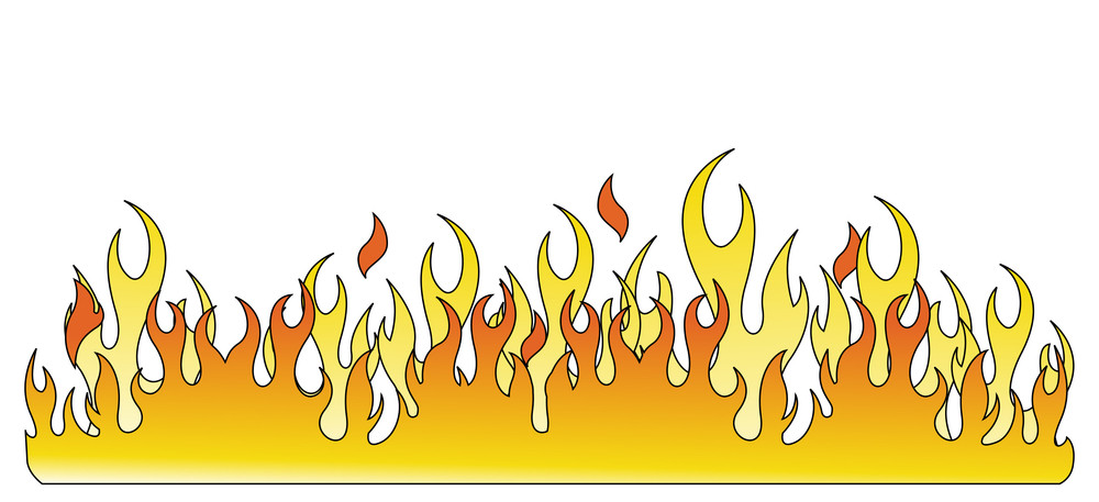 Fire Flaming Background Design