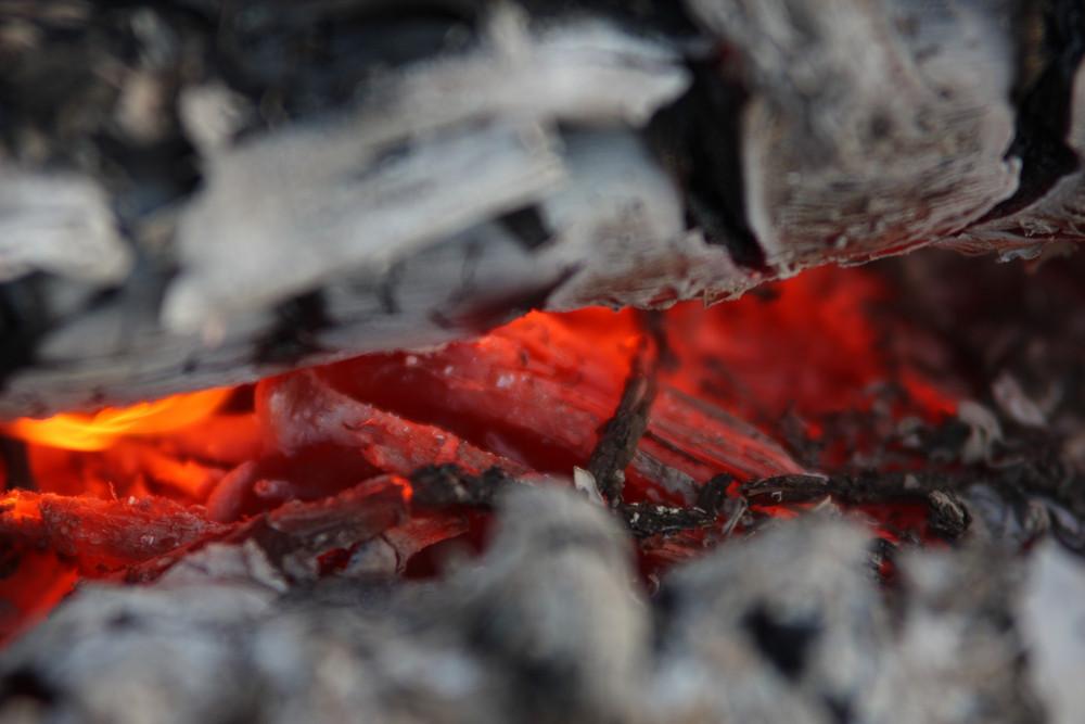 Fire In Campfire