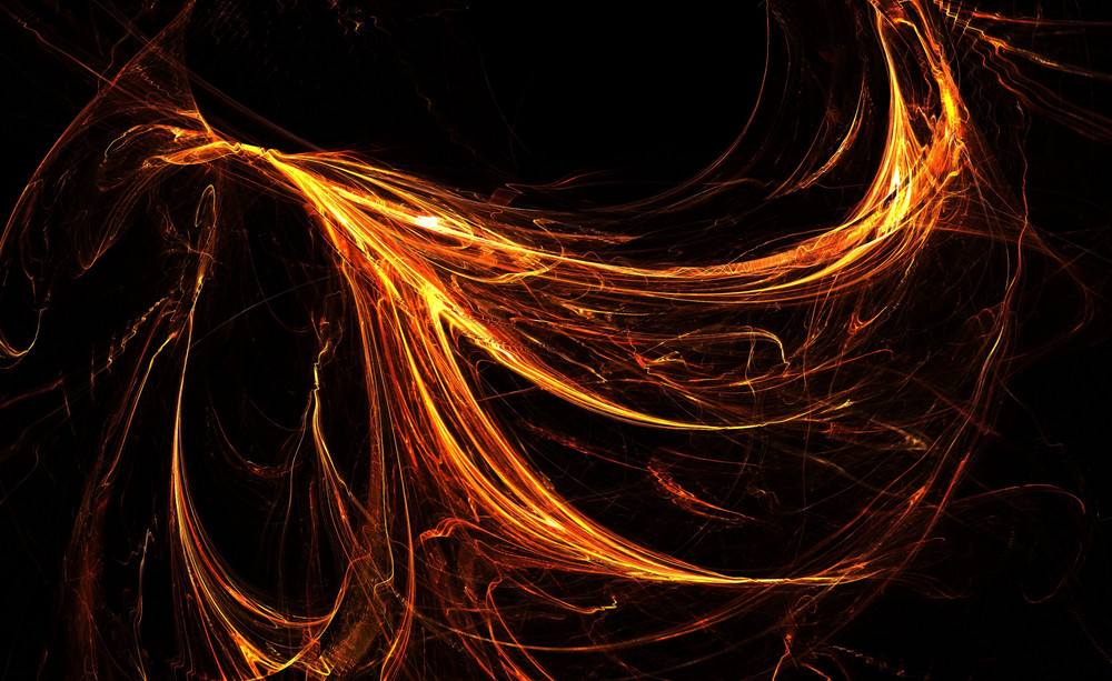 Fire Style Fractal Flames Design