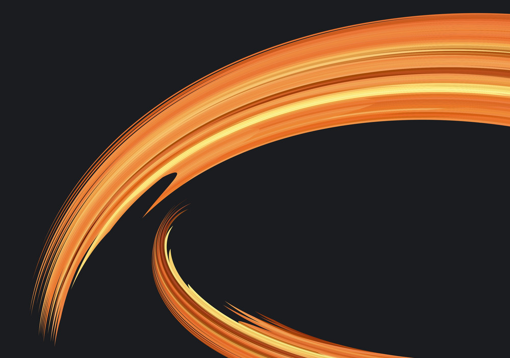 Flames. Vector Background.