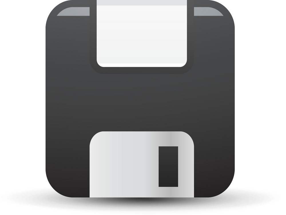 Floppy Disk Lite Computer Icon