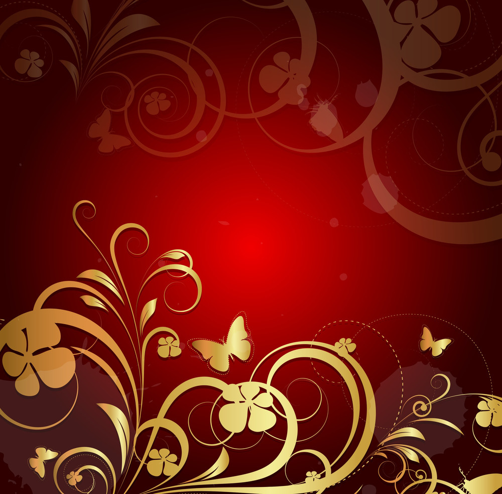 Flora Design Background