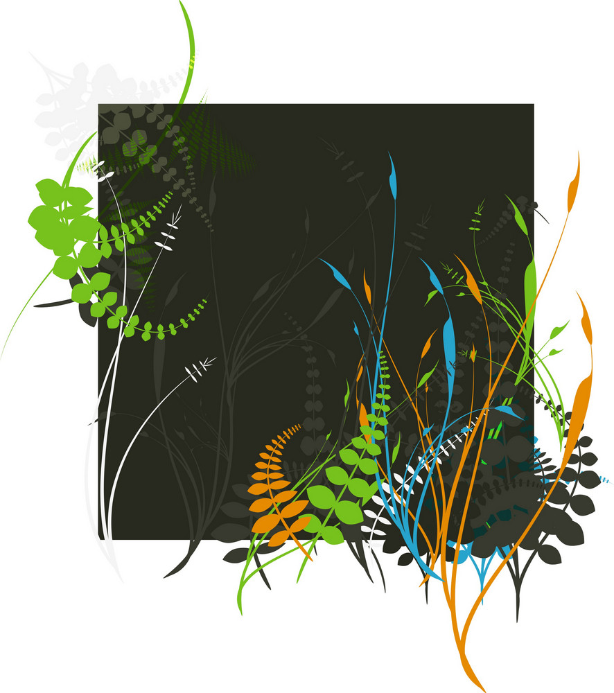 Floral 4 Vector