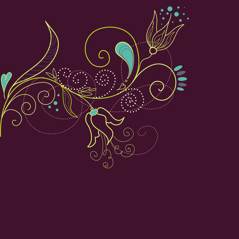 Floral Background-