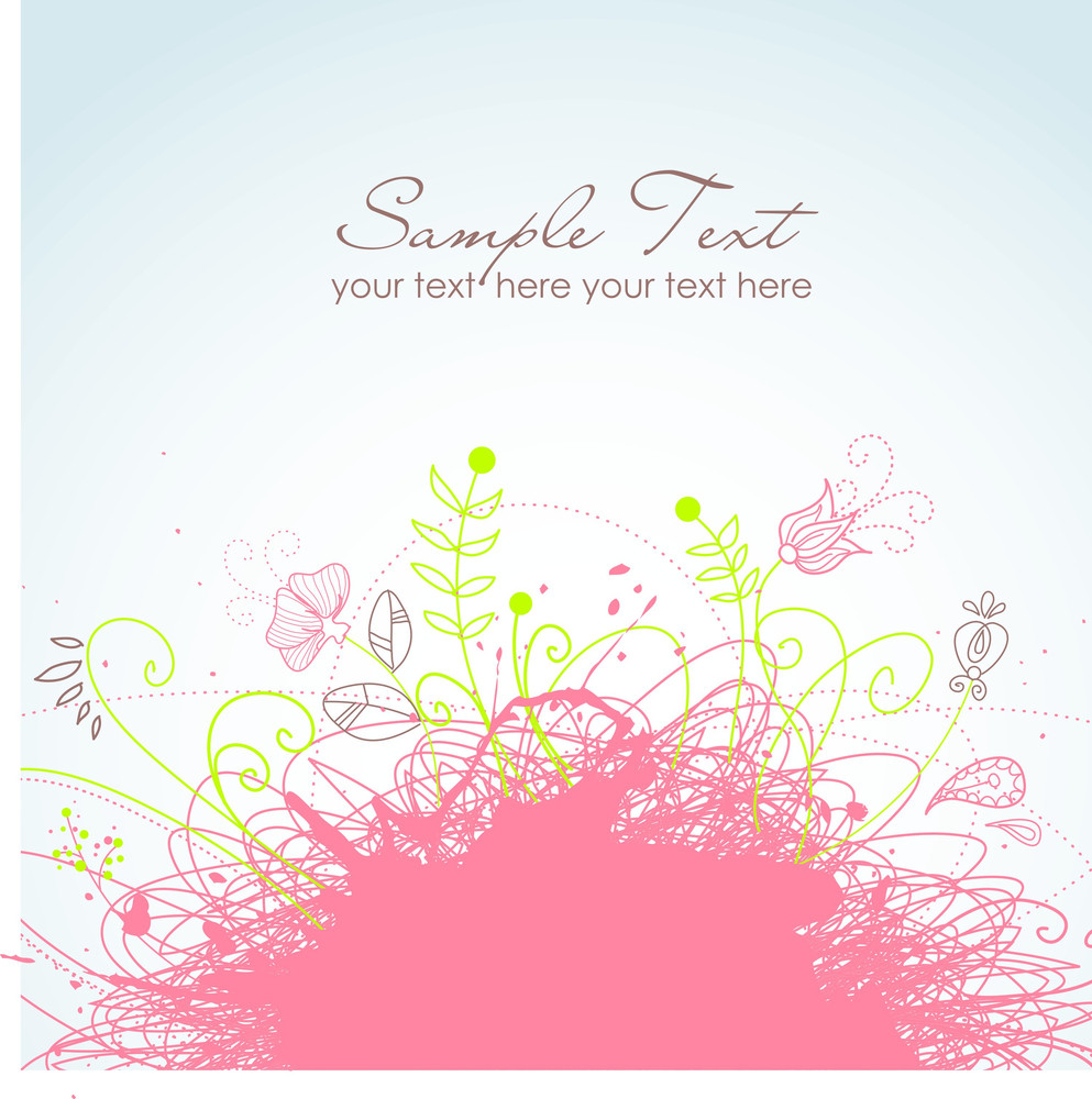Floral Background-