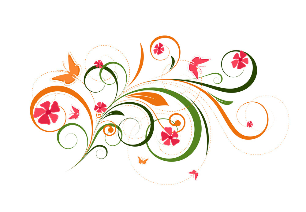 Floral Festive Elements