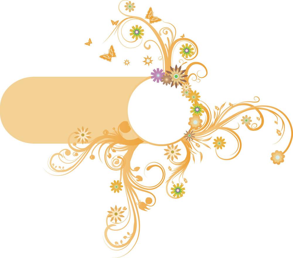 Floral-frame